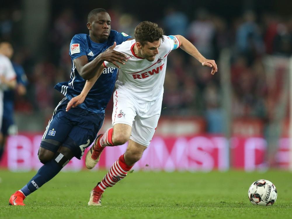 1. FC Köln spielt Unentschieden gegen Verfolger Hamburg