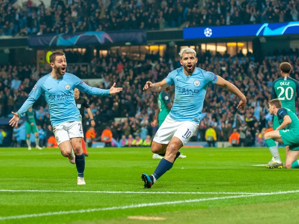 City siegt gegen Tottenham