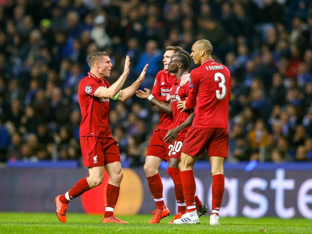 Liverpool zieht ungefährdet ins Halbfinale ein