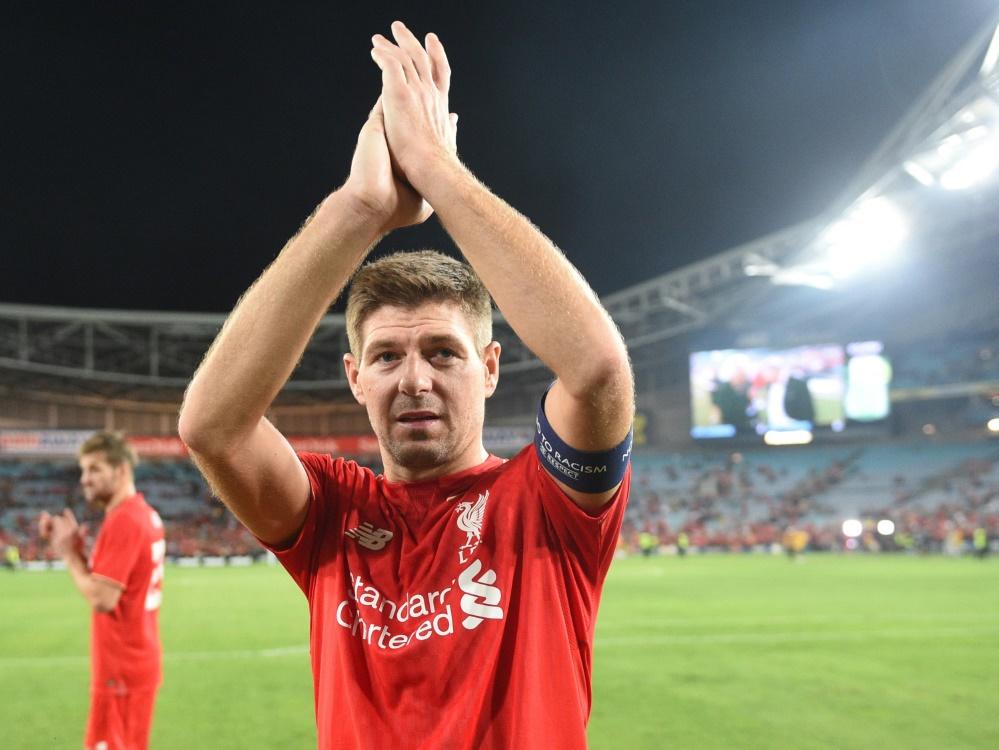 Vorbild für die Eggestein-Brüder: Steven Gerrard