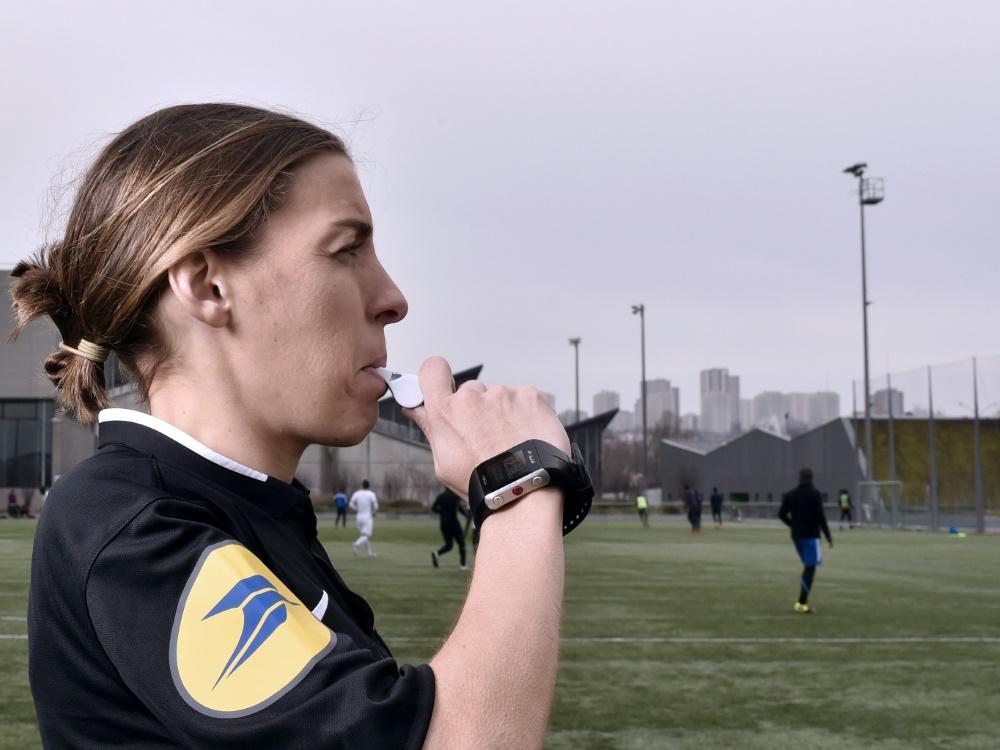 Pfeift am Sonntag ein Ligue-1-Spiel: Stephanie Frappart