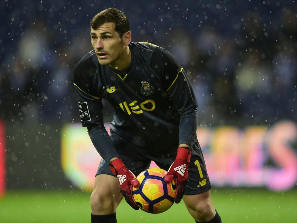 Casillas darf nach seinem Infarkt bald wieder nach Hause