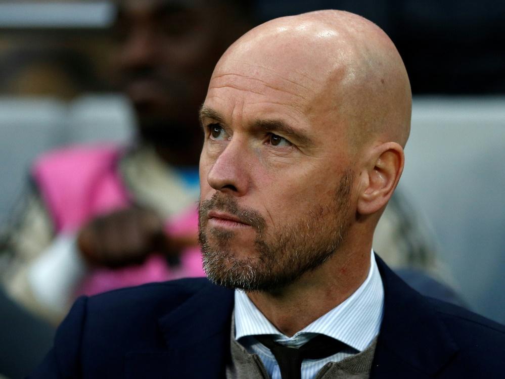 Gemischte Gefühle bei Ajax-Trainer ten Hag