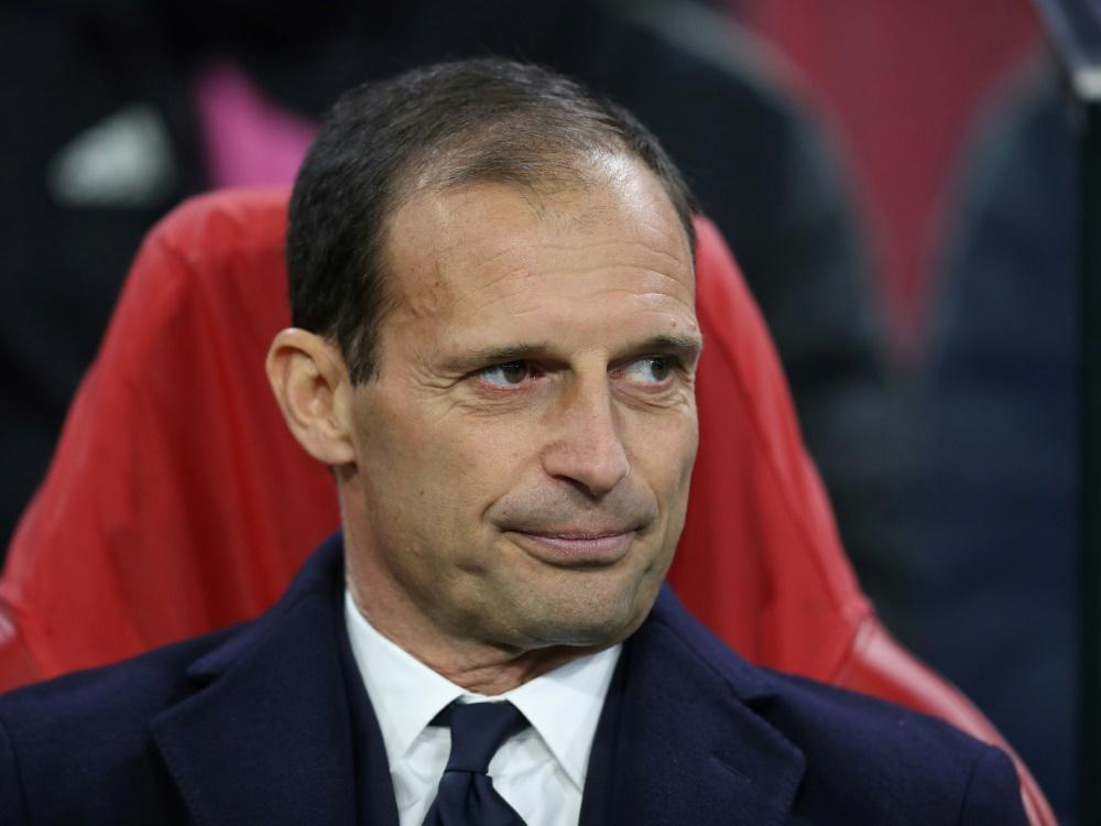Will Juve wohl verlassen: Massimiliano Allegri