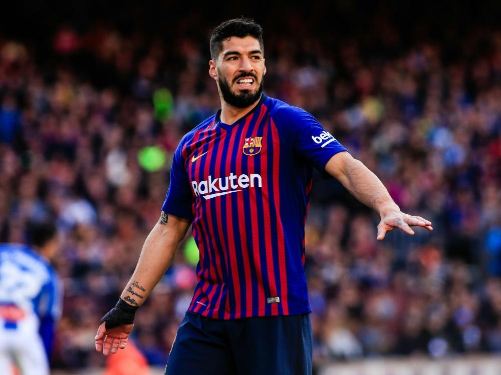 Luis Suarez muss sich einer Meniskus-OP unterziehen