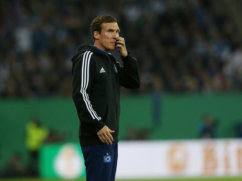 Hannes Wolf steht beim HSV vor unklarer Zukunft