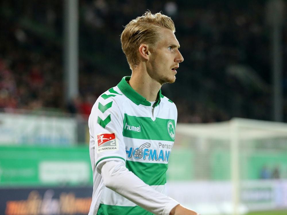 Maximilian Sauer hält mit Fürth die Klasse