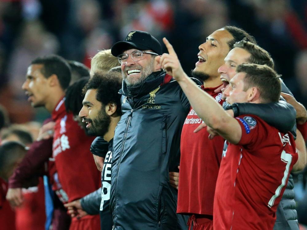 Internationale Presse feiert Klopp und den FC Liverpool