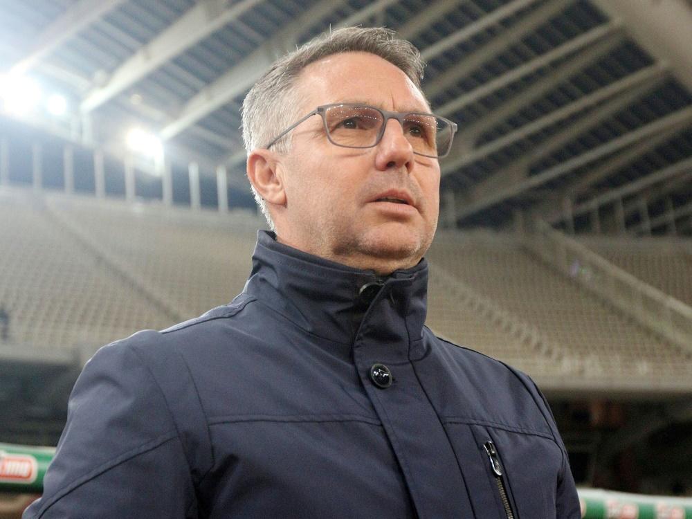 Neuer Trainer in Nürnberg: Damir Canadi