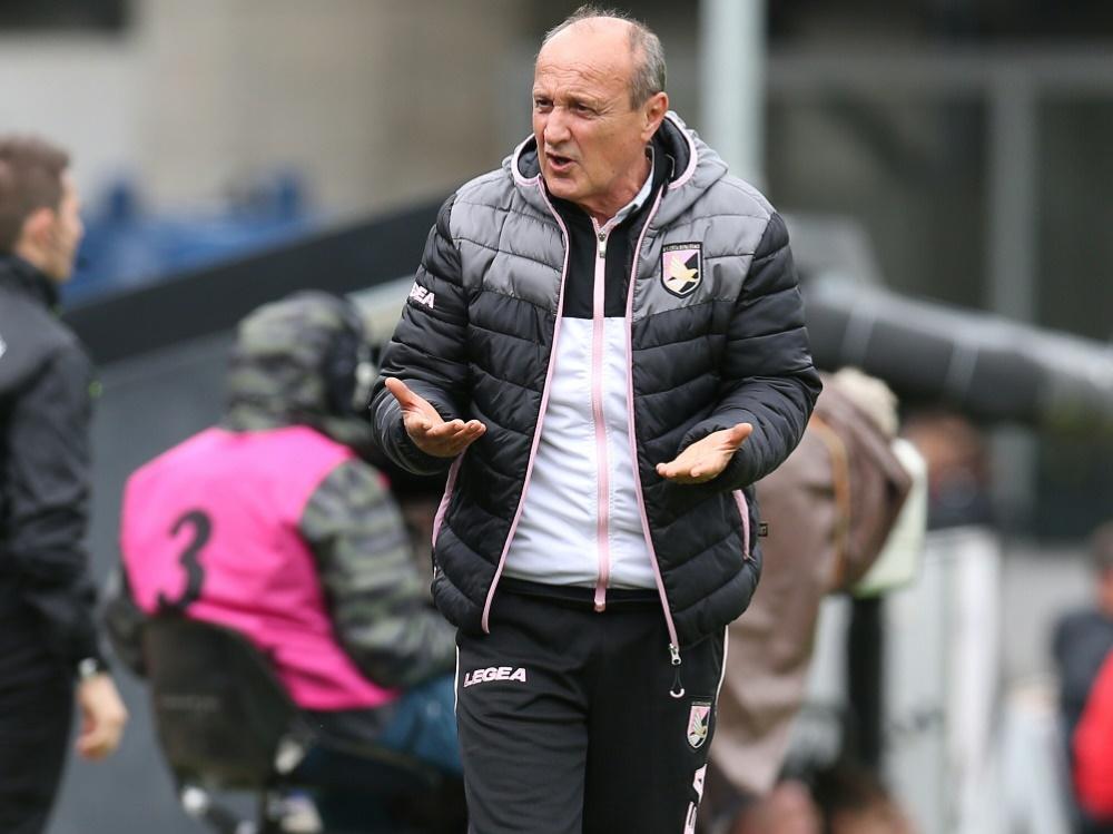 Zwangsabstieg: Palermo und Trainer Rossi in Serie C