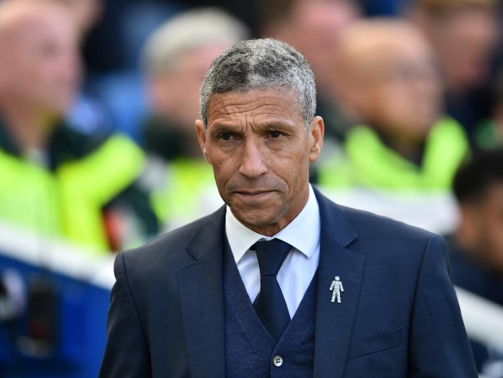 Teammanager Chris Hughton muss bei Brighton gehen