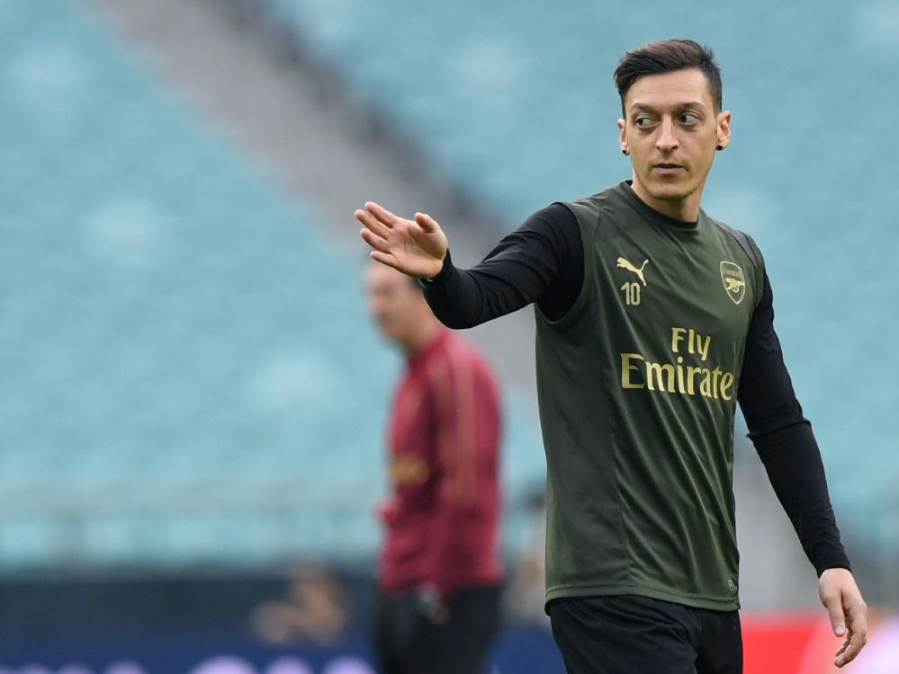 FC Arsenal: Mesut Özil steht in der Startaufstellung
