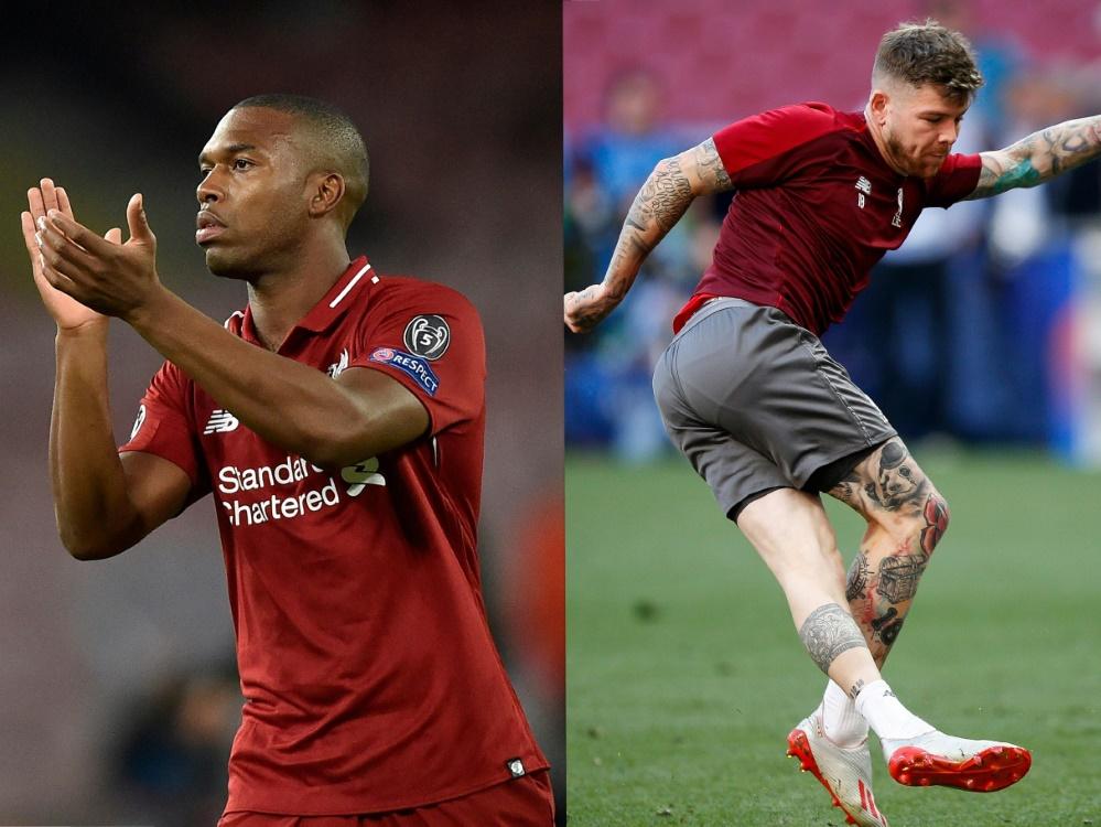 Sturridge (l.) und Moreno (r.) verlassen Liverpool