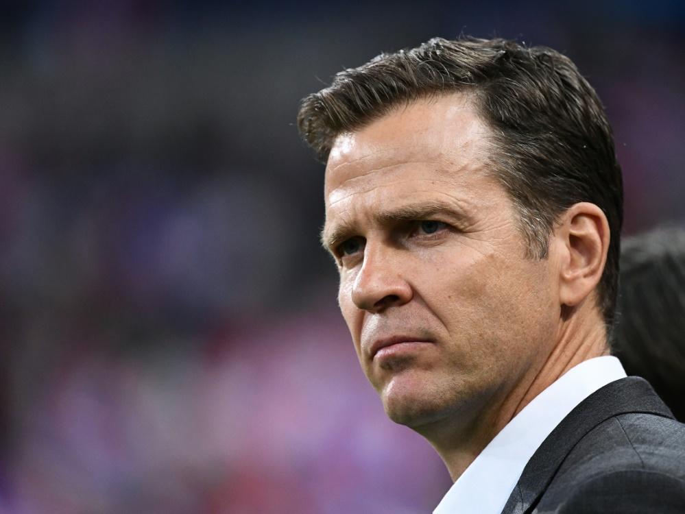Bierhoff sieht eine positive Entwicklung des DFB-Teams