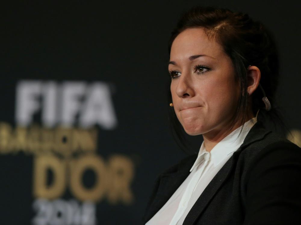 Nadine Keßler wurde 2014 zur Weltfußballerin gekürt