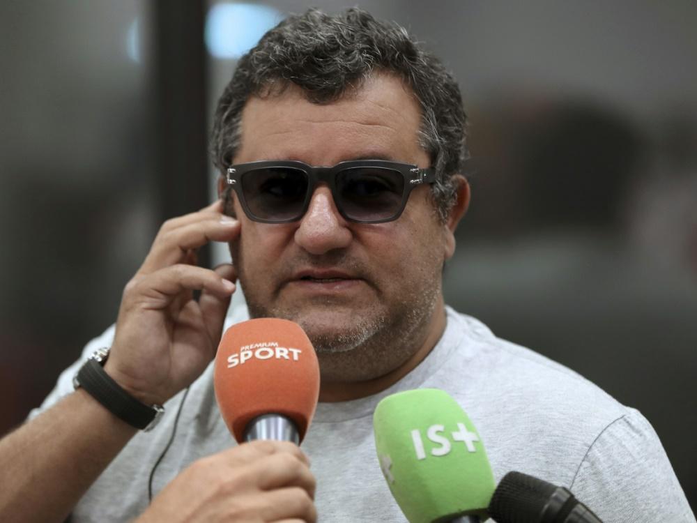 Dreimonatige Sperre gegen Mino Raiola aufgehoben