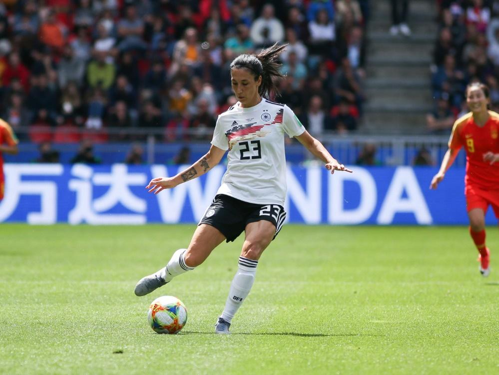 Sara Doorsoun und DFB-Frauen wollen nächsten Sieg
