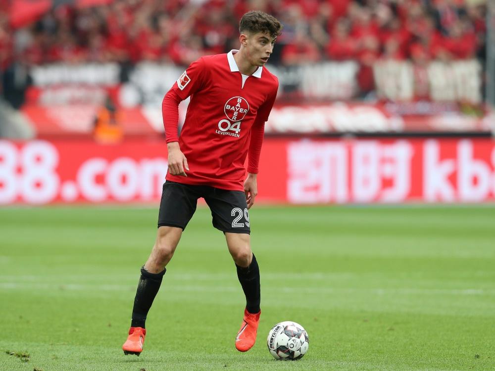 Erzielte 17 Treffer für Bayer: Kai Havertz