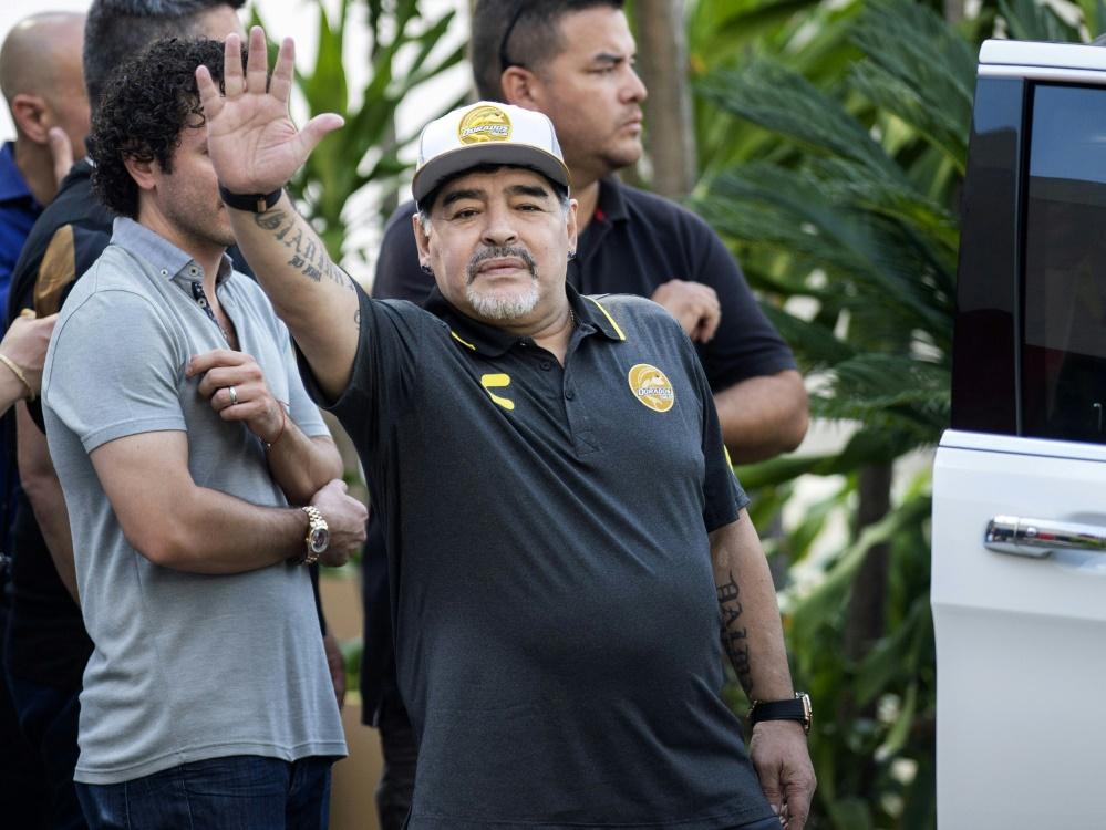 Maradona tritt in Mexiko ab