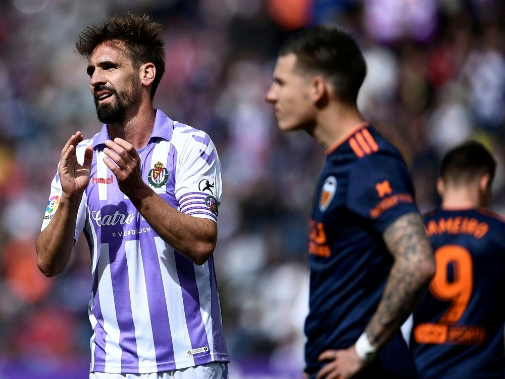Ermittlungen gegen Valladolid und Borja Fernandez (l.)