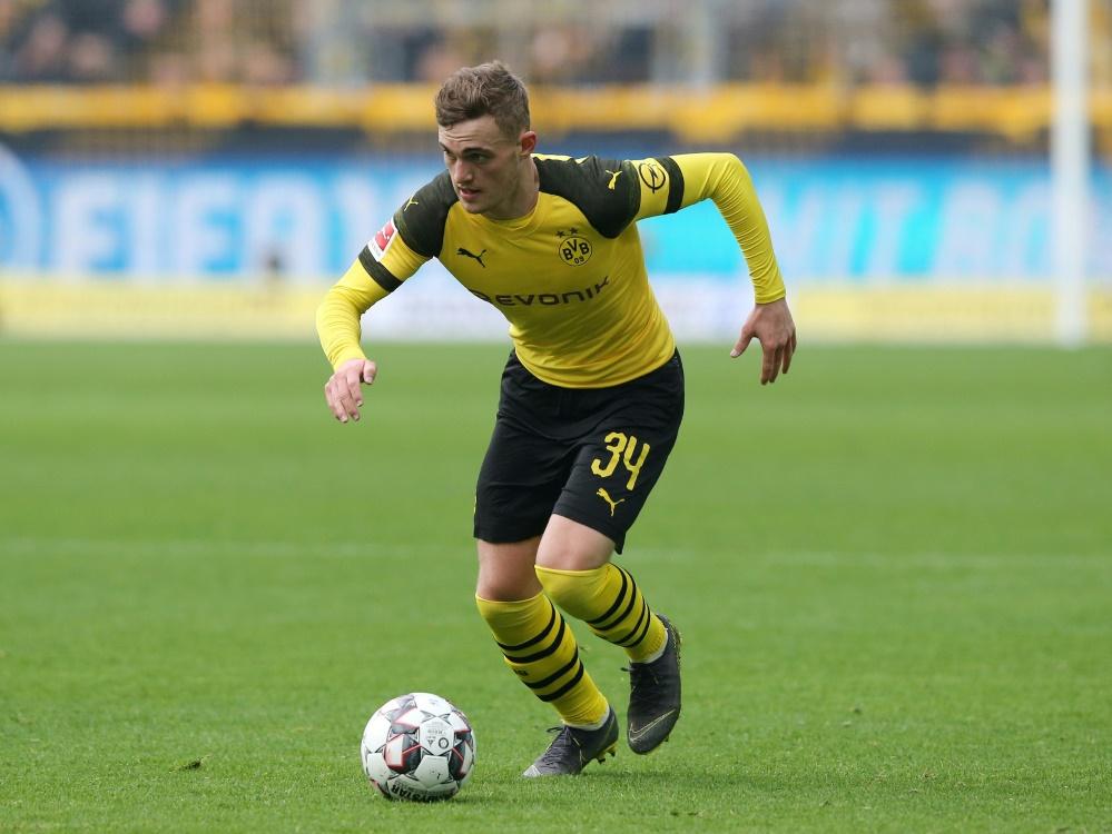 BVB-Profi Bruun Larsen trifft auf die U21 des DFB