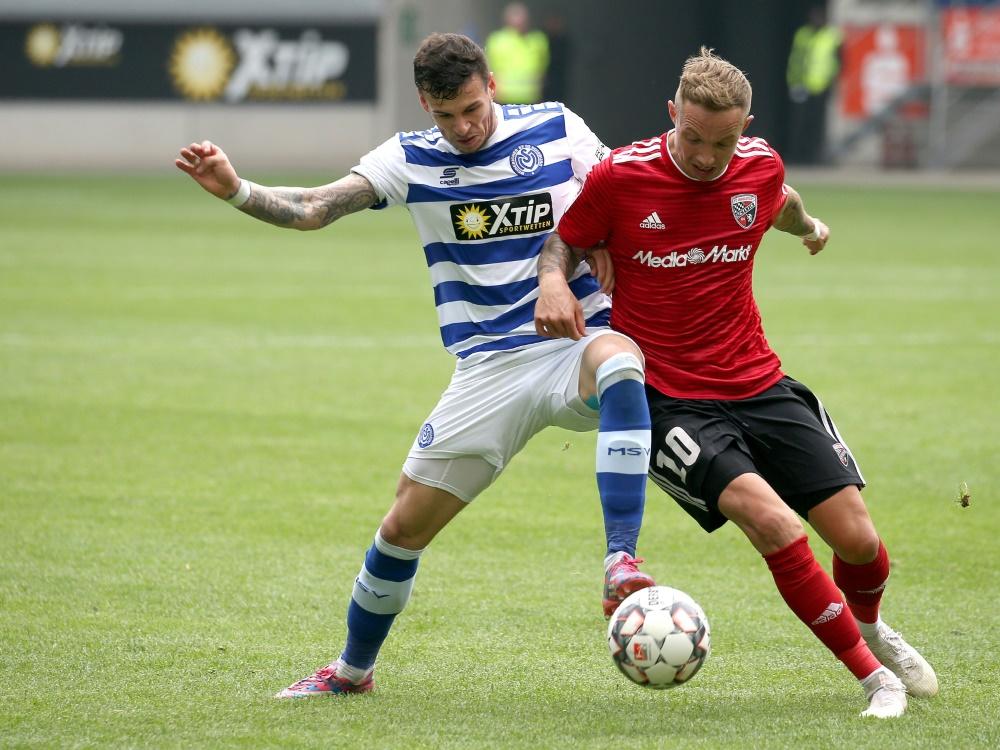 Sonny Kittel (r.) wird den FC Ingolstadt verlassen