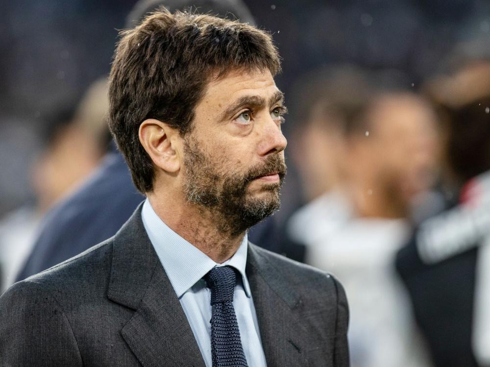 Ist ein Befürworter der Superliga: Andrea Agnelli