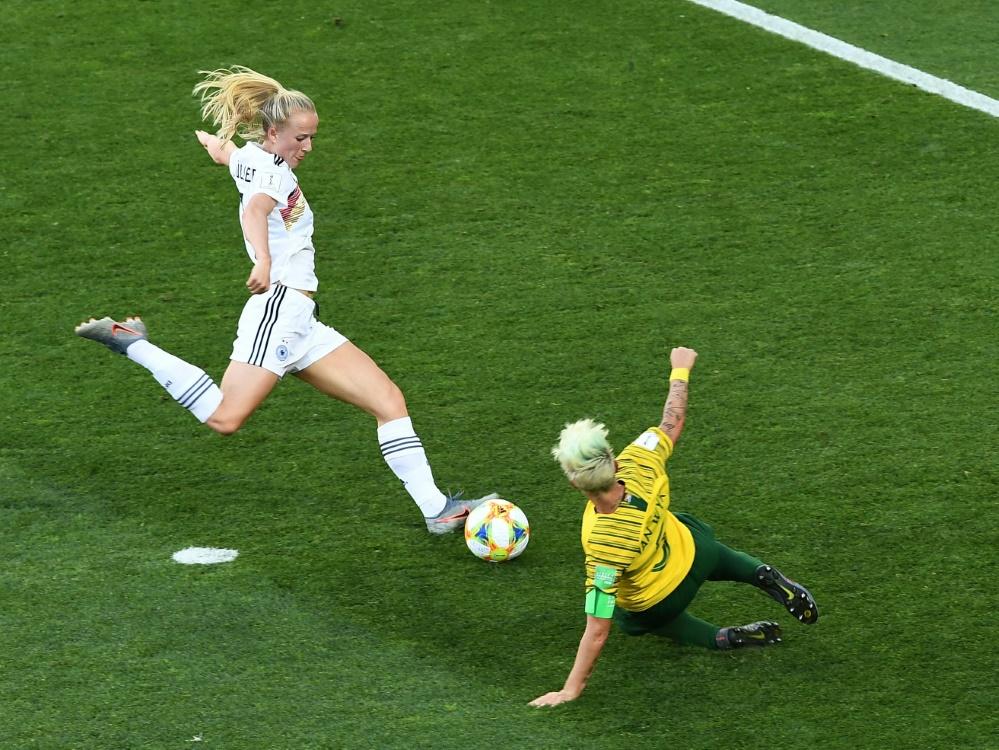 Die DFB-Frauen sicherten sich den Gruppensieg