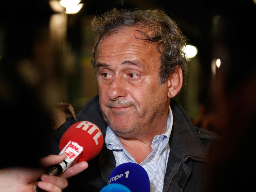 Nicht länger in Gewahrsam: Michel Platini