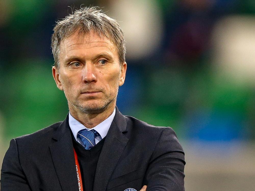 Martin Reim ist nicht mehr Nationaltrainer Estlands