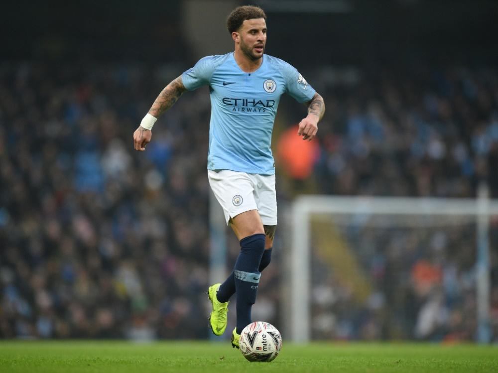 Kyle Walker spielt seit 2017 für Manchester City