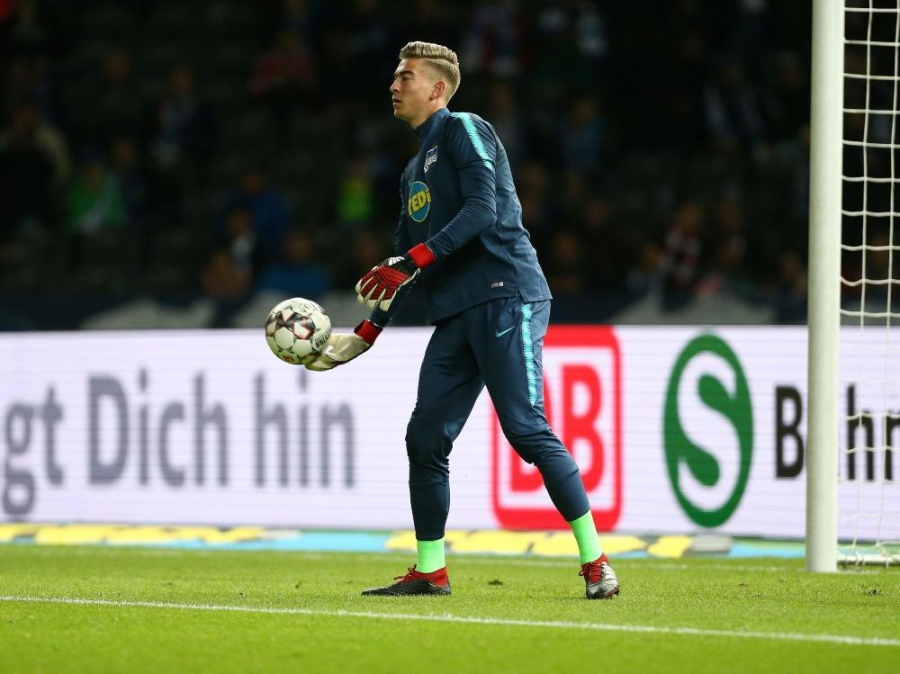 Jonathan Klinsmann spielte seit 2017 für die Hertha