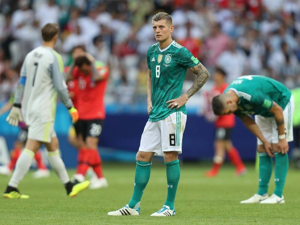 Nach dem 0:2 gegen Südkorea scheiden Kroos und Co. aus