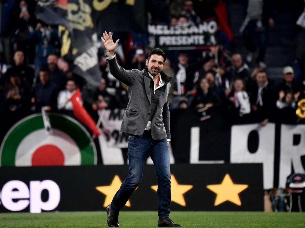 Gianluigi Buffon spielte bereits 17 Jahre für Juve