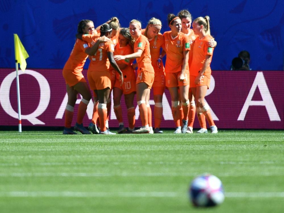 Stehen erstmals in einem WM-Halbfinale: Niederlande