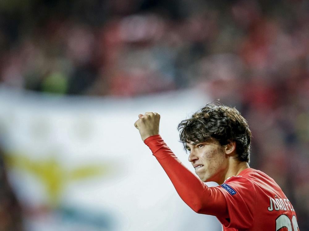Joao Felix unterschreibt bei Atletico Madrid bis 2024