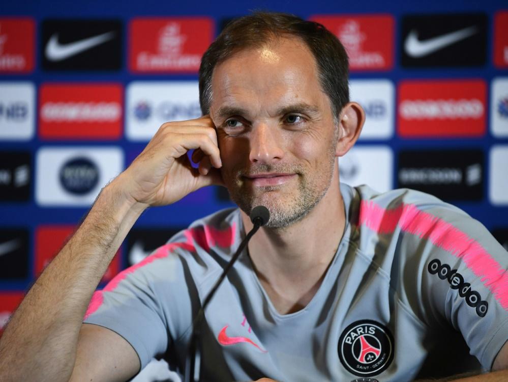 PSG-Coach Thomas Tuchel freut sich auf Mitchel Bakker