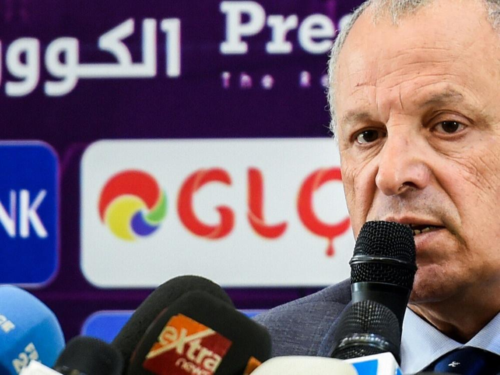 Der ägyptische Verbandspräsident Hani Abu Rida