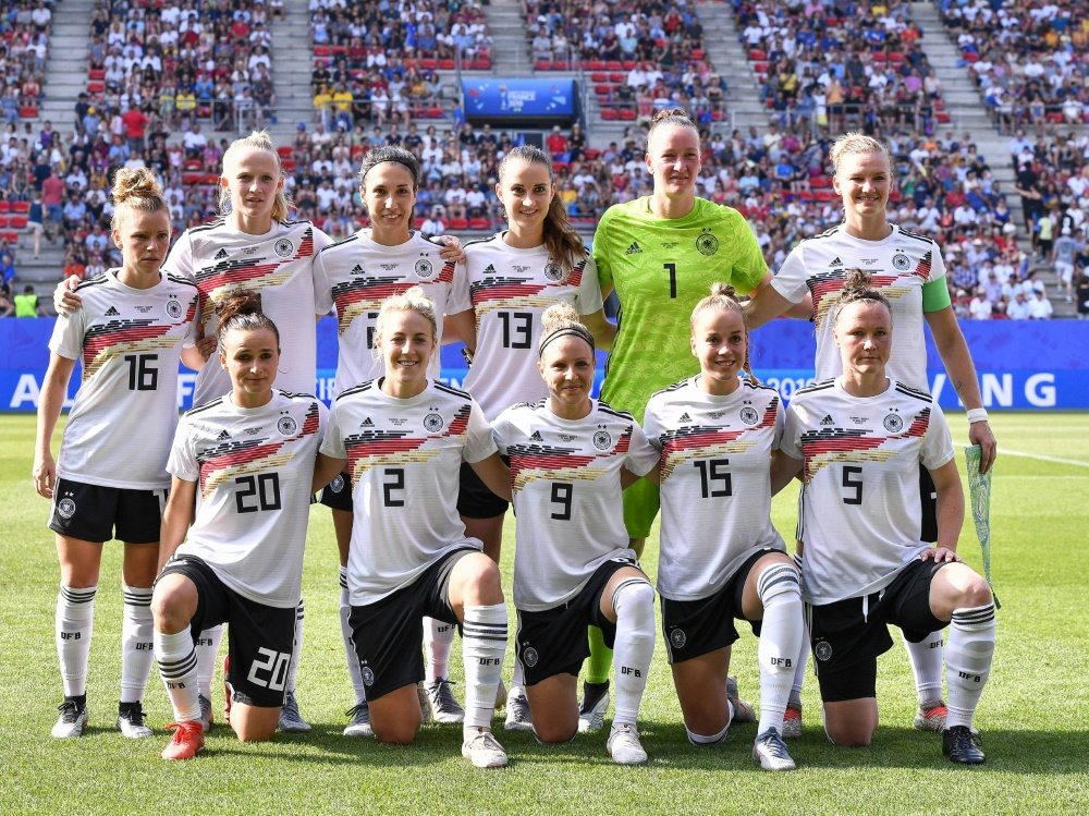 Die deutschen Frauen bleiben auf Platz zwei