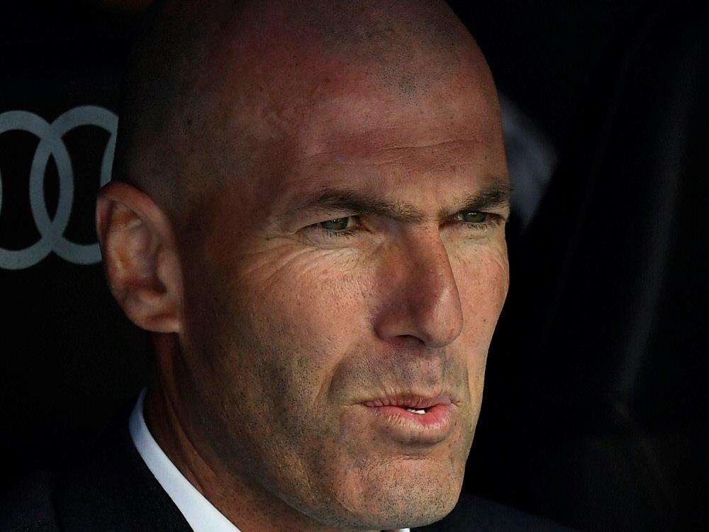 Wann Zidane wieder auf der Trainerbank sitzt, ist offen