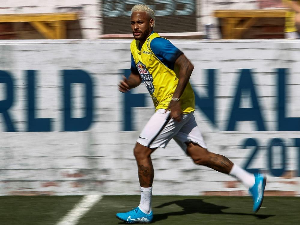 Neymar bei einem Turnier in Sao Paulo