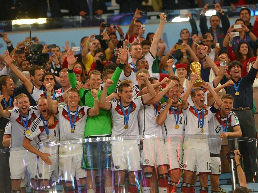 Deutschland wurde 2014 in Brasilien Weltmeister