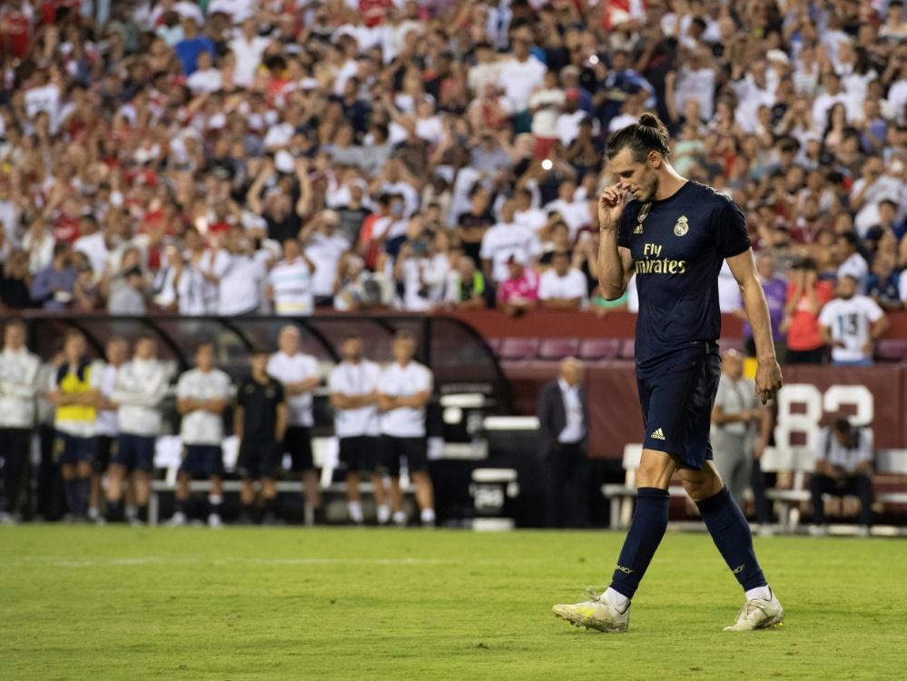 Gareth Bale steht offenbar vor einem Wechsel nach China