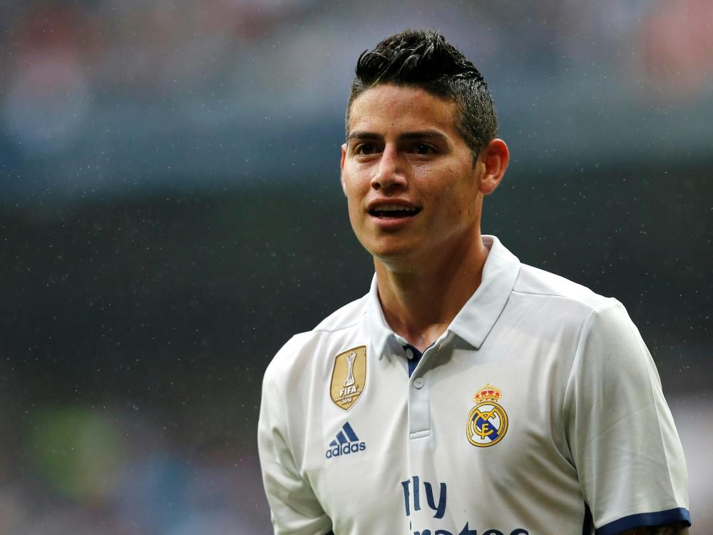 Medien: Real Madrid plant offenbar weiter mit James