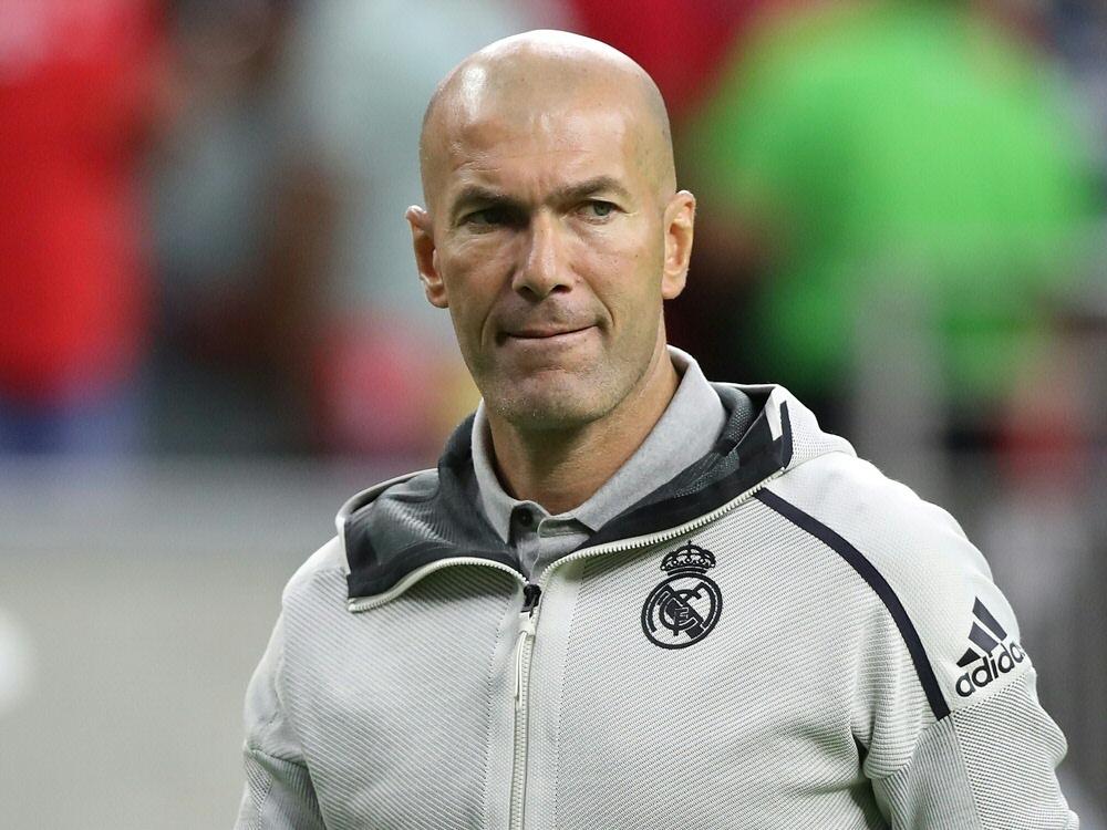Zinedine Zidane redet nicht über Bale und James