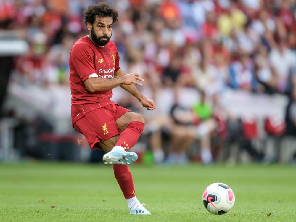 Mohamed Salah erzielte das 2:0 gegen Norwich