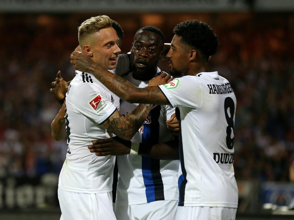 4:0 in Nürnberg: HSV siegt souverän beim Club