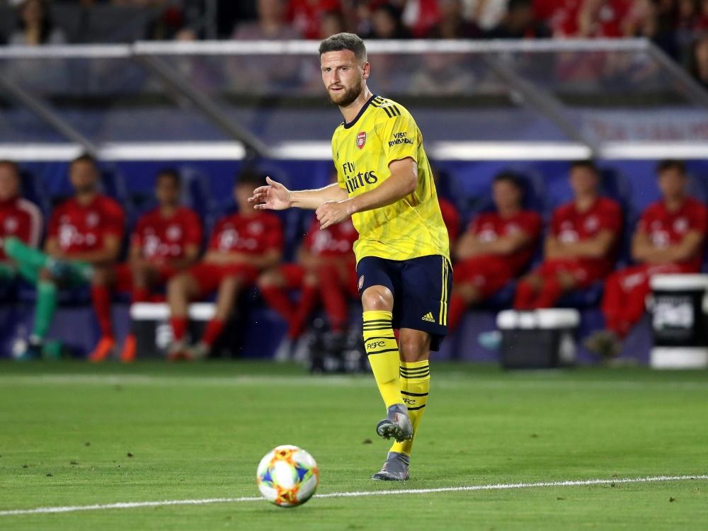 Shkodran Mustafi steht beim FC Arsenal vor dem Abgang