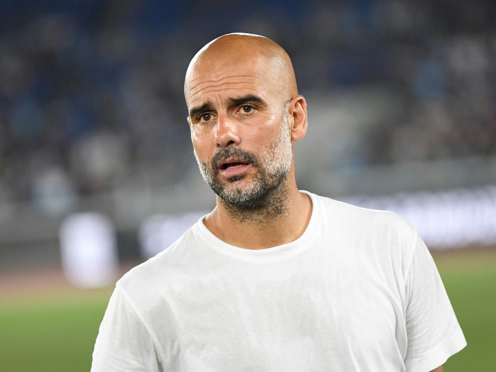 Guardiola rechnet mit einem sehr langen Sane-Ausfall