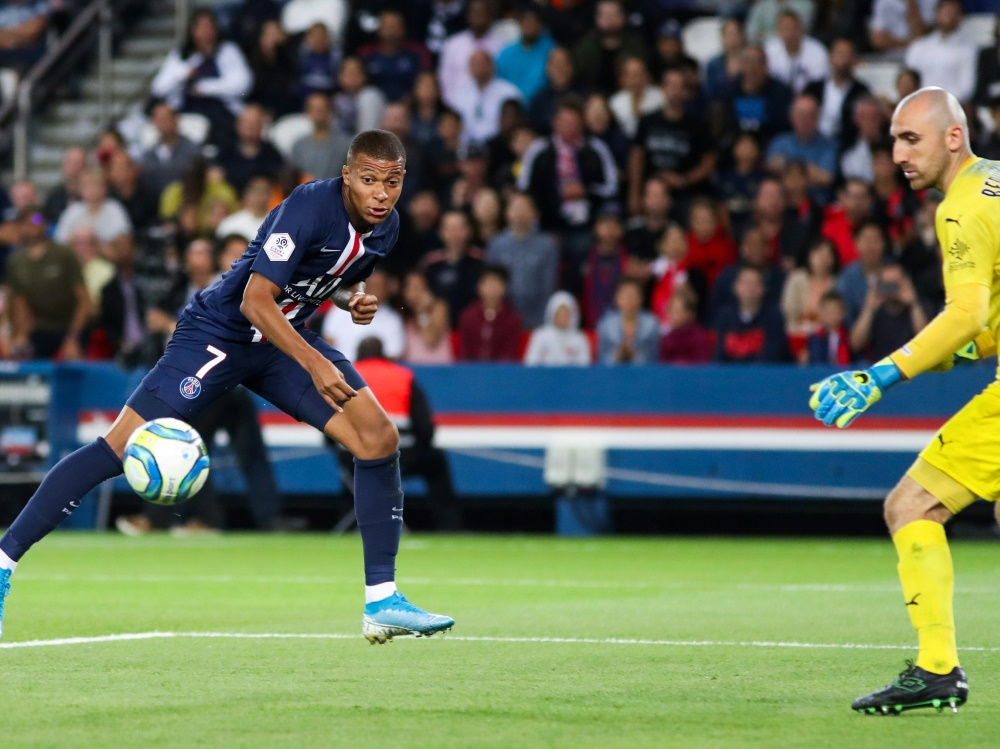 Traf zum 2:0: Kylian Mbappe